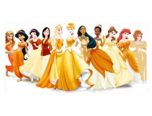 Painel em Lona Princesas Disney 07