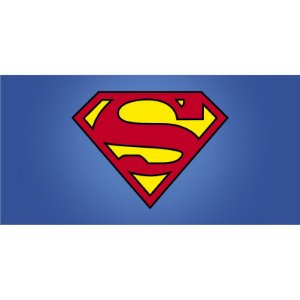 Painel em Lona Super Man 01
