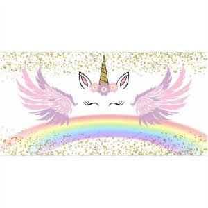 Painel em Lona Unicornio 03