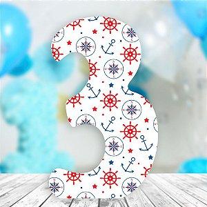 5 Letras ou Numeros Escolha seu Tema 65 cm Decorativa Personalizado