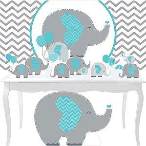 Combo Diamante Personalizado Elefantinhos