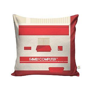Capa de Almofada Console Nintendo Family Computer