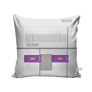 Capa de Almofada Console Super Nintendo