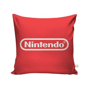 Capa de Almofada Logo Nintendo
