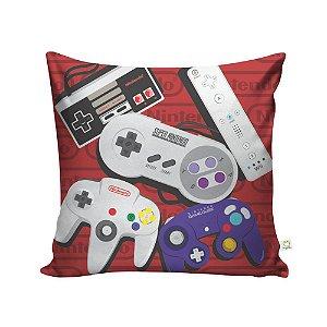 Capa de Almofada Controle da Nintendo