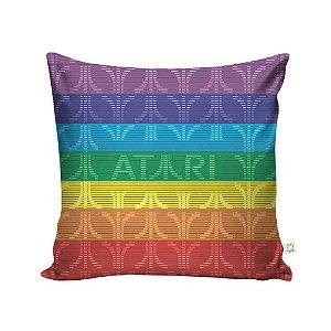 Capa de Almofada Logo Atari Arco