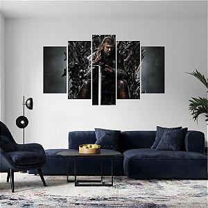 Quadro Mosaico Série Game of Thrones Mod 18