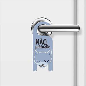 Aviso De Porta Não Perturbe Cachorrinho Mod01