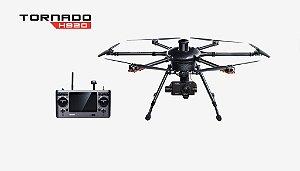 Yuneec Tornado H920 Hexacóptero - Câmera 4K - Zoom Ótico 3x - 2x Baterias e HardCase - Pronto para Voar