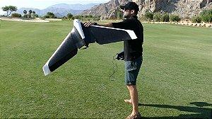 Asa Parrot Disco - c/ Óculos FPV 720p - Até 2.5 Km alcance voando à 80km/h e 45min autonomia - RTF