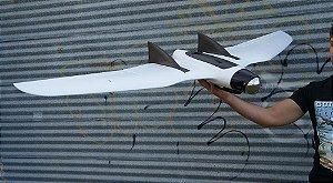 Asa RVJET - Pronta para Voar basta embarcar seu Sensor / Câmera - Para Trabalhos de Mapeamento, Topografia, Agricultura de Precisão, Geologia e outros Aerolevantamentos