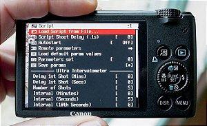 Canon S120 Captura o infravermelho próximo NIR - Para gerar NDVI