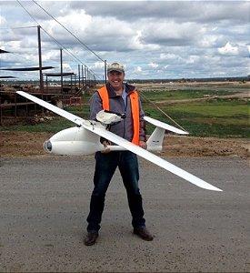 Aeronave AvioFlyer - ideal para projetos DIY de Mapeamento, Reconhecimento Aéreo Alta capacidade Payload - Full Composite Airframe