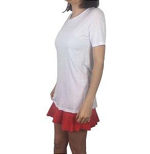 blusa básica | t-shirt branca | coleteria