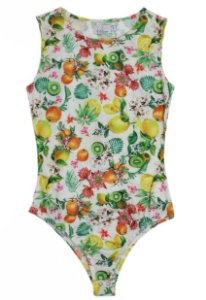 Body Regata Tropical Ribana Frutas| body | Coleteria