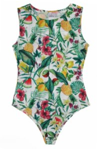 Body Regata Tropical Ribana Folhas | body | Coleteria