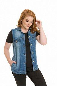 Colete Jeans |colete| Coleteria
