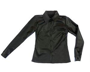 Camisa manga longa couro Chamois|Camisa| Coleteria