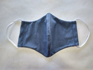 Máscara Jeans (1unidade) |Máscaras|Coleteria