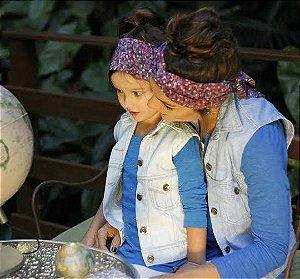 colete jeans | paraty kids | coletânea mundo