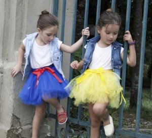 colete jeans infantil | tutu escuro | coleteria in the city