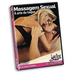 DVD - Massagem Sexual - Loving Sex