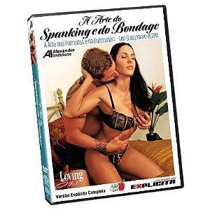 DVD - A arte do Spanking e do Bandage - Loving Sex