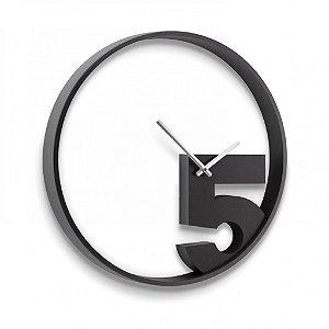 """Relógio de Parede Umbra """"TAKE 5"""""""