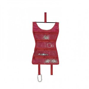 "Organizador de Bijoux Pendurável Umbra ""MINI RED DRESS"""