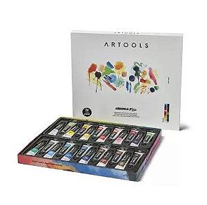Aquarela Artools 24 cores