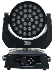 MOVING WASH LED KIT C/04 NO CASE 36 X 12W COM ZOOM