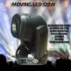 MOVING LED 120W (PAR NO CASE)
