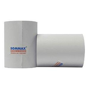 Caixa de bobina 76mm 1 Via Apergaminhada Branca com 30 metros e 30 rolos