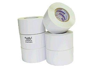 Cod0093-Etiqueta Térmica - 40X40 c/ 470 etiquetas no rolo
