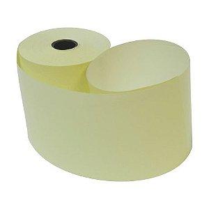 Bobina 57mm 1 Via Térmica Amarela com 35m com 30 rolos