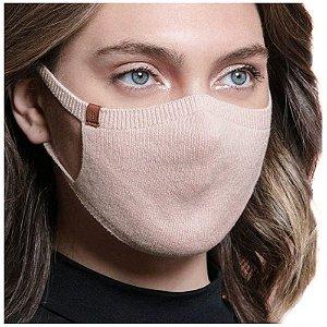 Máscara Proteção Camada Dupla 100% Algodão Biamar Rose