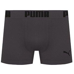 Cueca Boxer Puma Sem Costura - Chumbo M