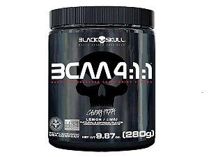 Bcaa 4:1:1 Caveira Preta 280g - Black Skull Guarana com Açai