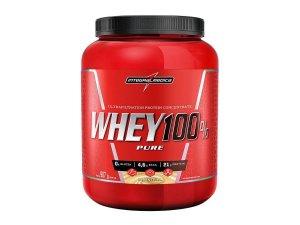 Super 100% Whey 907g Chocolate Integral Medica