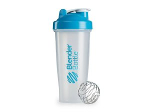 Coqueteleira Blender Bottle 600ml - Cor Transparente Aqua