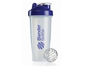 Coqueteleira Blender Bottle 600ml - Cor Transparente Roxo