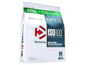 Iso 100 Hydrolyzed Whey Protein 6lb ( 2,7kg ) - Dymatize Baunilha