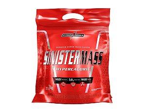 Sinister Mass Refil 3kg Morango Integral Medica
