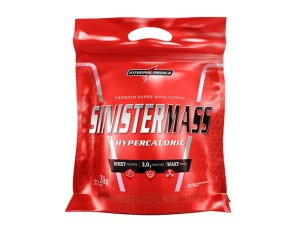 Sinister Mass Refil 3kg Chocolate Integral Medica