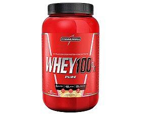 Whey 100% Pure 907g - Integral Médica Baunilha