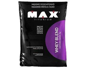 Whey Blend 2kg Morango - Max Titanium