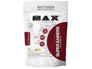 Hipercalorico Super Gainers 3kg Max Titanium Baunilha