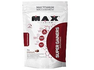Hipercalorico Super Gainers 3kg Max Titanium Chocolate