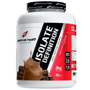 Isolate Definition 2kg  - Bodyaction Sabor: Chocolate