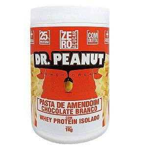 Pasta Amendoim Chocolate Branco com Whey Isolado - Dr Peanut